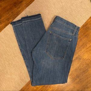 Banana Republic light/medium wash skinny jeans